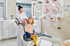 Zabieg stomatologii dziecięcej